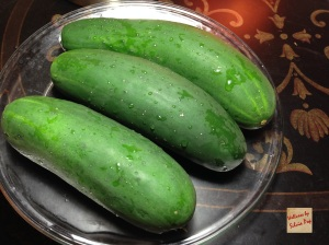 Picture of Fresh & Organic Cucumbers